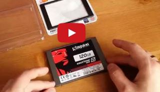 Dysk SSD Kingston V300 120GB Unboxing Rozpakowanie PL