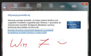 Aktywacja Windows 7