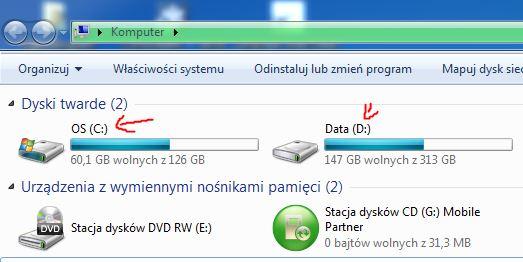 Jak sprawdzić prędkość odczytu i zapisu dysku HDD SSD SSHD w Windows 7