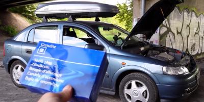 Wymiana Świec Zapłonowych - Opel Astra G - Manual