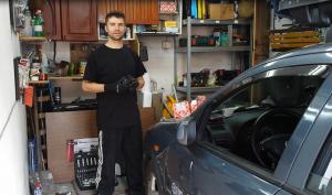 Wymiana przegubu, półosi, osłony - Opel Astra G - Manual