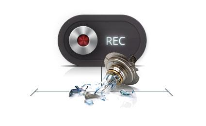 Mio MiVue 638 Touch - Rejestrowanie Zdarzeń nagłych