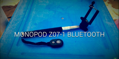 MONOPOD Z07-1 BLUETOOTH - Recenzja i Test