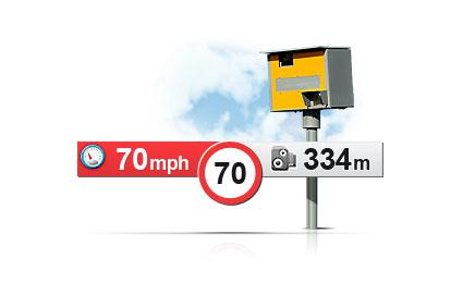 Mio MiVue 638 Touch - alarm prędkości