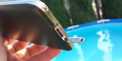 Zalany Samsung Galaxy S5