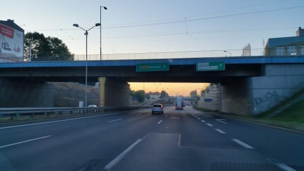 Samochodem do Katowic