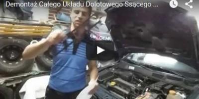 Demontaż Całego Układu Dolotowego Ssącego - Opel Astra G - www.APARTS.pl