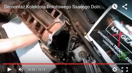 Demontaż Kolektora Dolotowego Ssącego Dolna Część - Opel Astra G - www.APARTS.pl