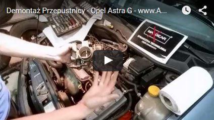 Demontaż Przepustnicy - Opel Astra G - www.APARTS.pl