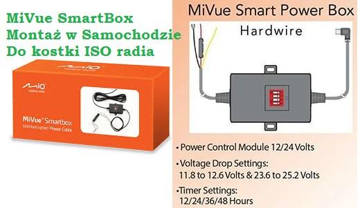 Mio MiVue Smart Box - MONTAŻ w Samochodzie
