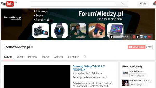 ForumWiedzy.pl na YouTube Subskrybuj nasz Kanał