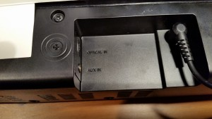 Samsung Soundbar HW-J250 obudowa AUX OPTICAL link