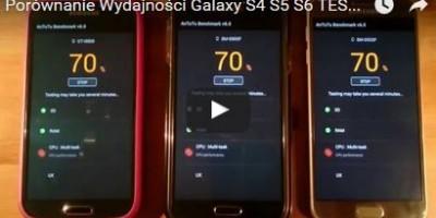 Porównanie Wydajności Galaxy S4 S5 S6 TEST AnTuTu Benchmark