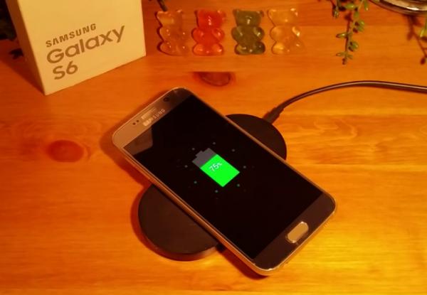 Samsung Galaxy S6 Bezprzewodowe Ładowanie QI