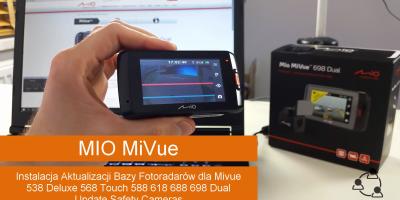 Instalacja Aktualizacji Bazy Fotoradarów dla Mivue 538 Deluxe 568 Touch 588 618 688 698 Dual Update Safety Cameras