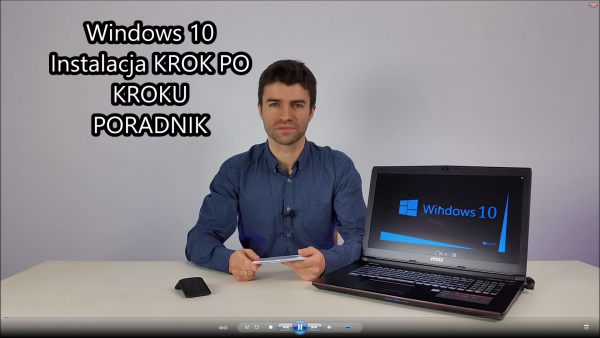 Jak Zainstalować Windows 10 64bit Krok Po Kroku FULL HD