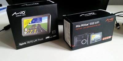 Mio MiVue 658 WiFi i Mio Spirit 7670 LM Truck właśnie przyjechały na testy!