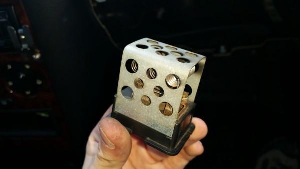 Nie działa dmuchawa nawiewu kabiny opel astra g x16xel