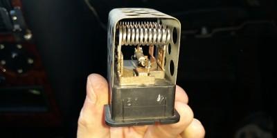 Nie działa 1 2 3 bieg nawiewu dmuchawy Opel Astra G Zafira i inne ROZWIĄZANIE rezystor bezpiecznik termiczny