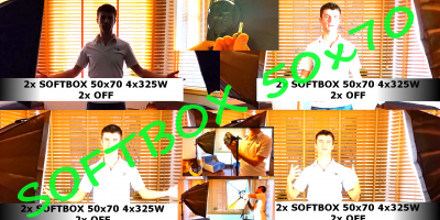 SOFTBOX 50x70 Oświetlenie Do Filmowania Na YouTube UNBOXING Lighting