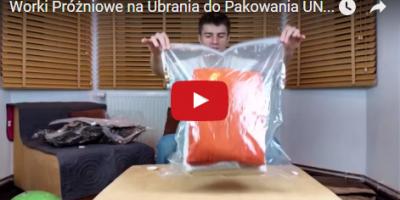 PORADNIK: Worki Próżniowe na Ubrania do Pakowania
