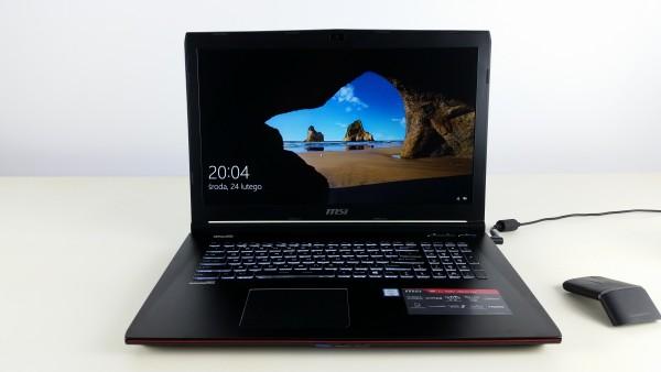 MSI GE72 6QC Apache RECENZJA TEST Laptopa Gamingowego X-KOM (25)