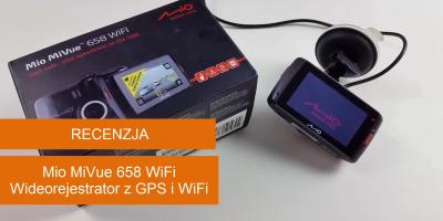 Mio MiVue 658 WiFi RECENZJA Test Wideorejestratora z GPS i WiFi