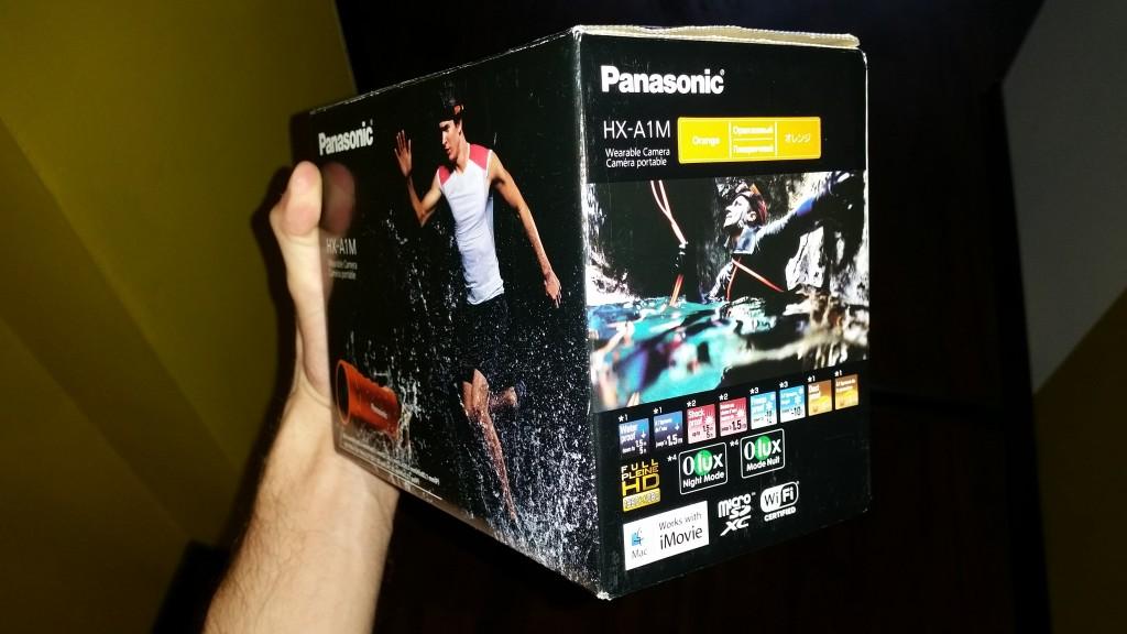 Panasonic HX-A1ME-D Opakowanie