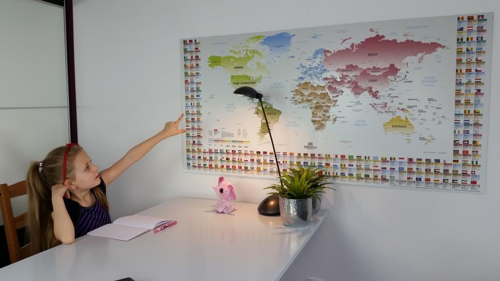 EDUART Mapa Świata