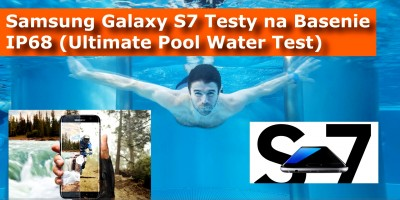 Samsung Galaxy S7 MEGA TEST Na Basenie IP68 AquaPark (Pool Water Test)