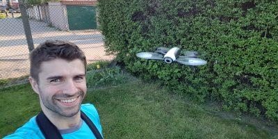 Parrot BEBOP 2 Dron - Akrobacje Powietrzne Trick Flip HD