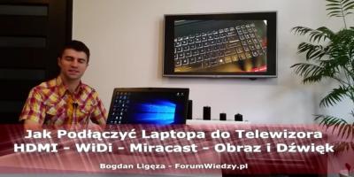Jak Podłączyć Laptopa do Telewizora