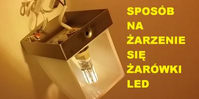 Żarzenie Żarówki LED po Wyłączeniu (Kondensator 220 nano 305V) 2 zł - Poradnik PL