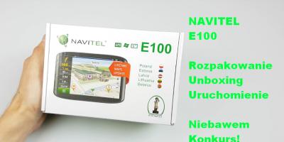 Navitel E100 Rozpakowanie Unboxing Uruchomienie PL