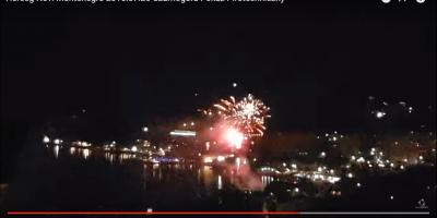 Herceg Novi Montenegro 2016.07.26 Czarnogóra Pokaz Pirotechniczny