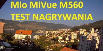 Mio MiVue M560 TEST Nagrywania Full HD PL