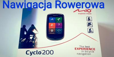 Mio Cyclo 200 Nawigacja Rowerowa Unboxing Rozpakowanie Uruchomienie