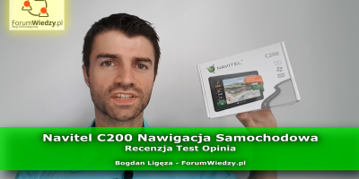 NAVITEL C200 Nawigacja Samochodowa Recenzja Test Opinia PL