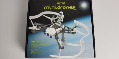 Parrot Minidron Airborne Cargo Drone MARS - Recenzja Test Opinia PL (10)