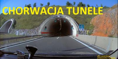 Chorwacja Tunele na Autostradzie 2016 Lipiec PL