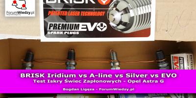 Brisk TEST świec zapłonowych IRIDIUM vs A-LINE vs SILVER vs EVO - PL
