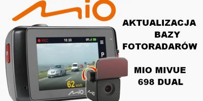 Aktualizacja Fotoradarów Mio MiVue 698 Dual 638 Poradnik PL