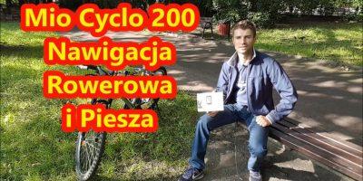 Mio Cyclo 200 Nawigacja Rowerowa i Piesza - Recenzja Test Opinia PL2
