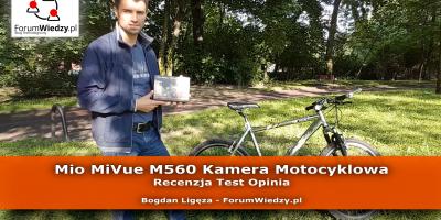 Mio MiVue M560 Kamera Motocyklowa - Recenzja Test Opinia PL