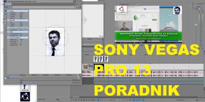Sony Vegas Pro 13 Montaż Przycinanie Slow Motion PIP Napisy Rendering PORADNIK PL