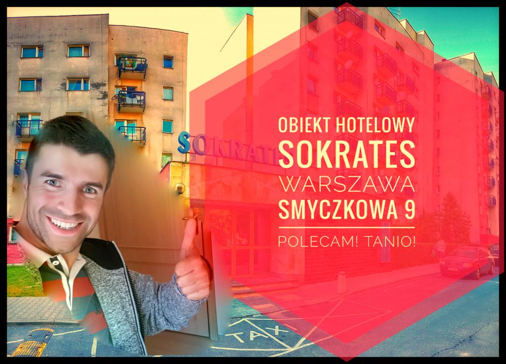 SOKRATES Obiekt Hotelowy, Warszawa Smyczkowa 9, Tani Nocleg