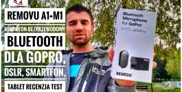 REMOVU M1+A1 Wodoodporny i Bezprzewodowy Mikrofon Bluetooth dla GoPro DSLR Smartfona RECENZJA