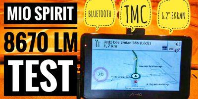 Mio Spirit 8670 LM Nawigacja Samochodowa