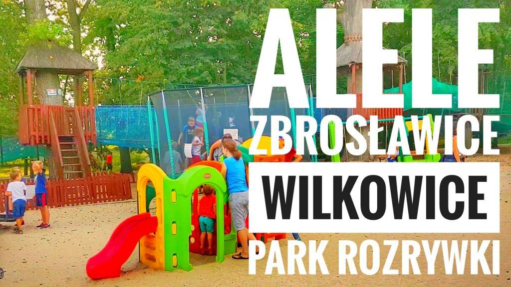 ALELE Zbrosławice Wilkowice - Park Przygód i Atrakcji, Park Linowy