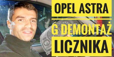 Instrukcja Demontażu Licznika Opel Astra G PORADNIK PL
